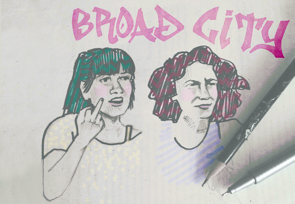 Broad City Art