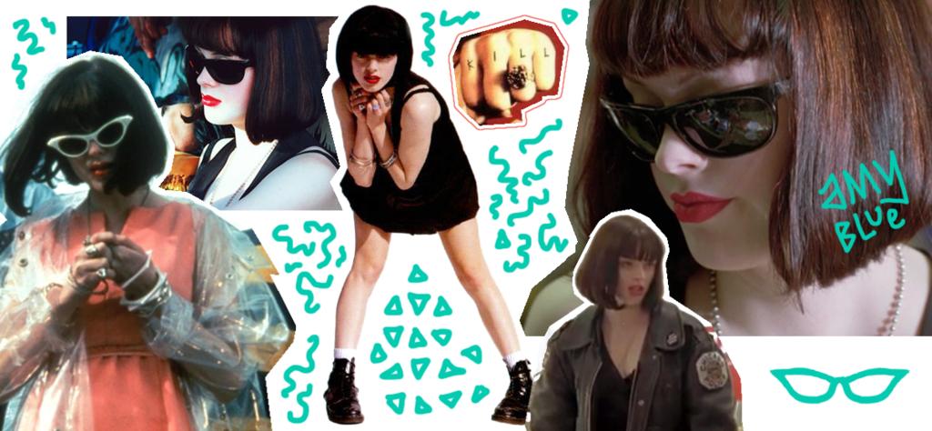 Amy Blue in Doom Generation fashion