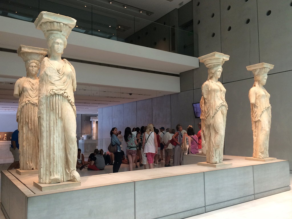 Acropolis Museum In Athens, Greece