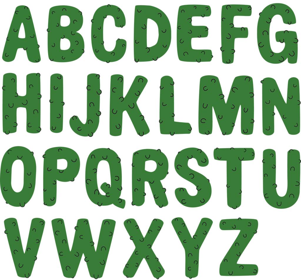 Pickle Alphabet